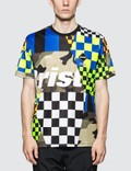 F.C. Real Bristol Multi-Pattern S/S T-Shirt Picture
