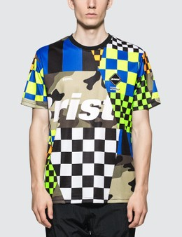 F.C. Real Bristol Multi-Pattern S/S T-Shirt