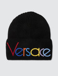 Versace Font Beanie Picture