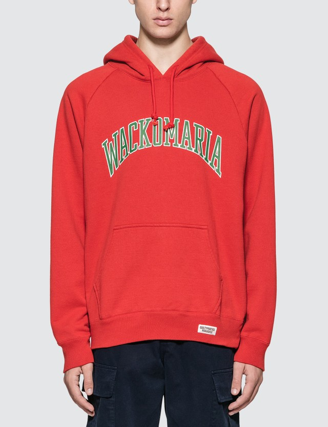 Wacko Maria Washed Heavy Weight Pullover Hooded Sweat Shirt (Type-6)