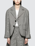 MM6 Maison Margiela Plaid Blazer