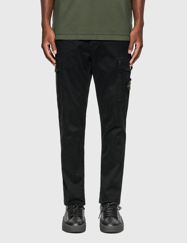 Stone Island Skinny Cotton Cargo Pants