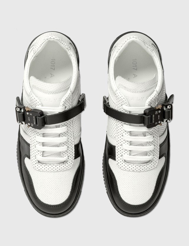 1017 ALYX 9SM Buckle Low Trainer White Women