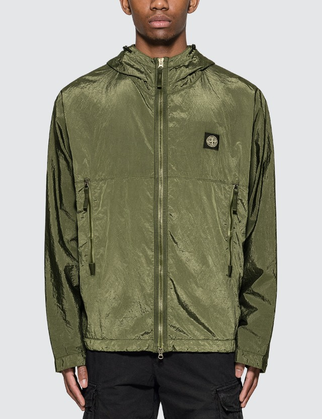Nylon Metal Watro Ripstop Hooded Jacket