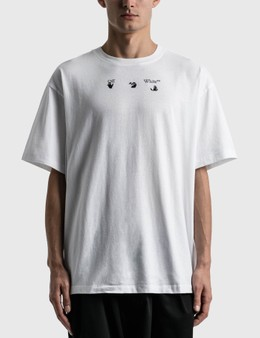 Off-White Blue Marker Oversized T-shirt