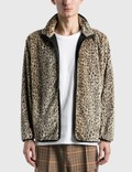 Needles Faux Fur W.U. Piping Jacket Picutre