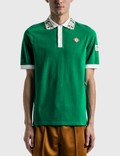 Casablanca Laurel Classic Polo Shirt 사진