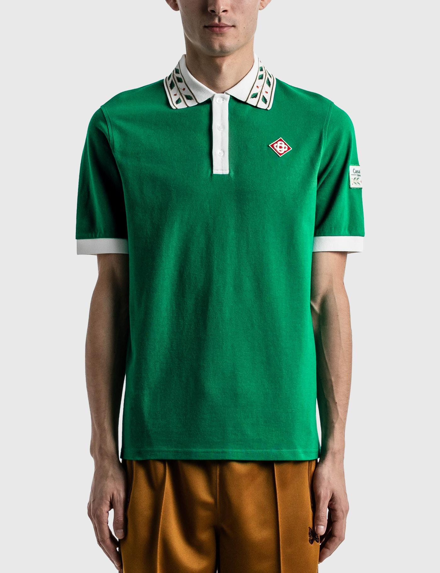 Casablanca Shirts LAUREL CLASSIC POLO SHIRT