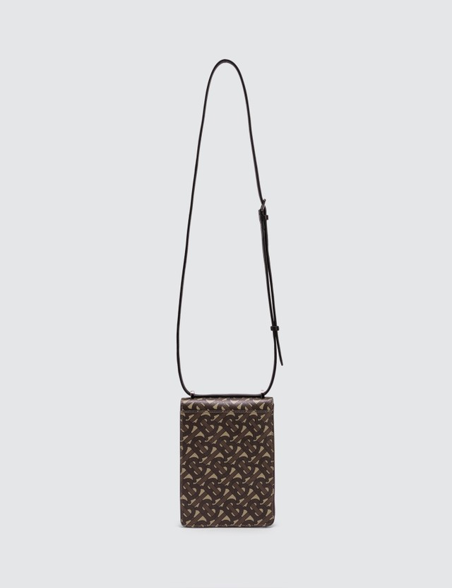 Burberry Monogram Print E-canvas Robin Bag