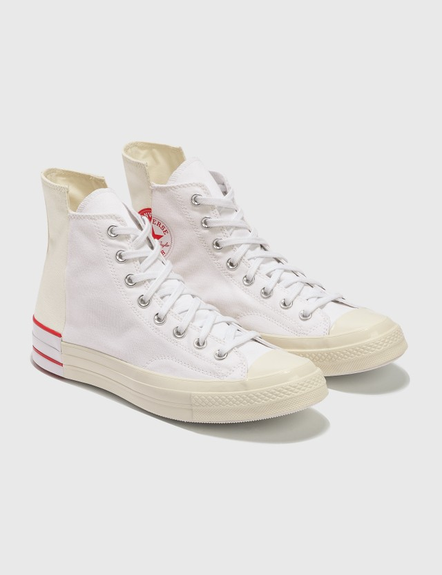Converse 척 70 White/egret/university Red Men