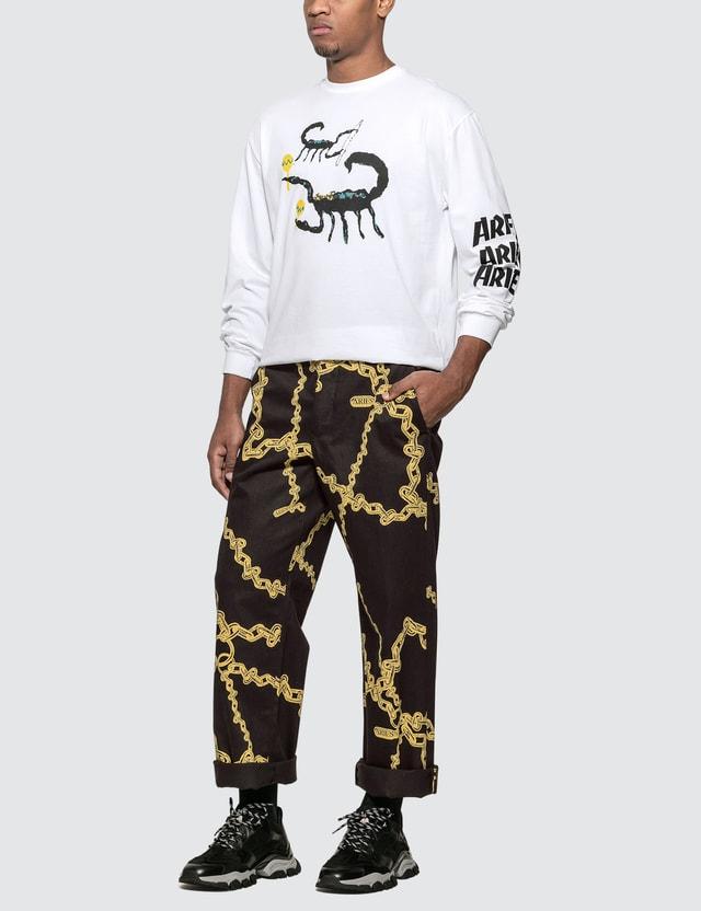 Aries Scorpion Long Sleeve T-Shirt
