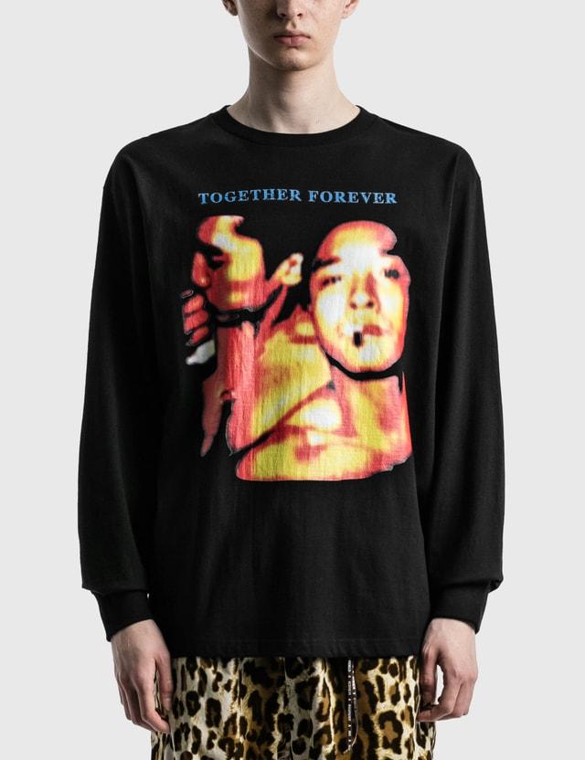 RAW EMOTIONS Together Forever Long Sleeve T-shirt Black Men