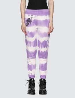Ashley Williams Cherub Devil Tie Dye Jogger Pants