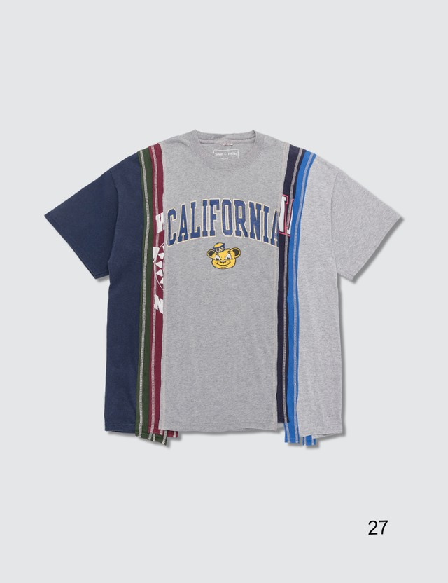 Needles 7 Cuts Wide College T-shirt