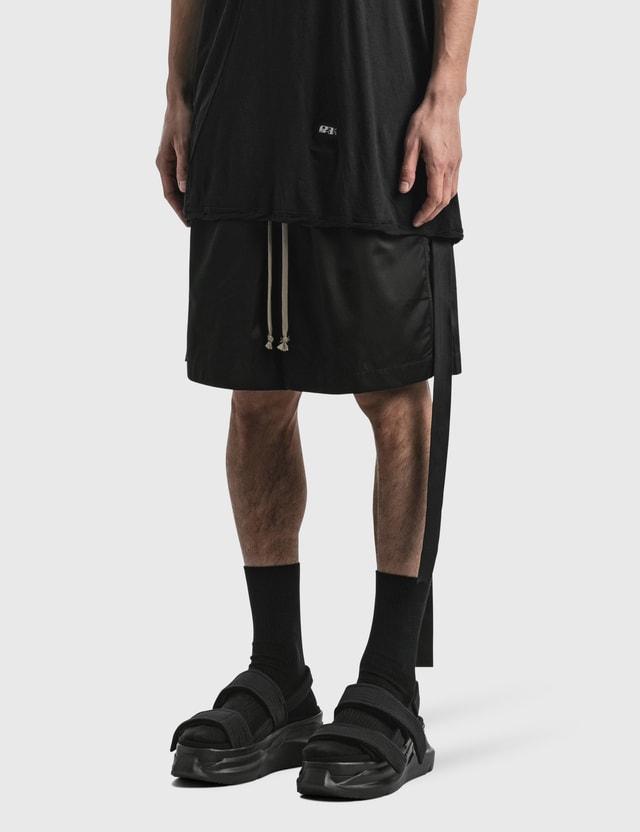 Rick Owens Drkshdw Faun Shorts Black Men