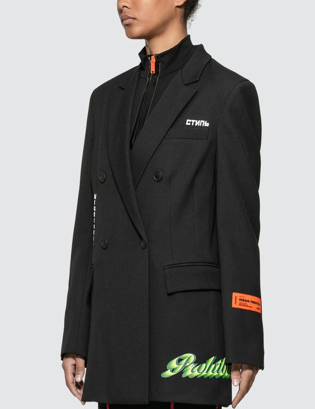 Heron Preston Double Breast Blazer