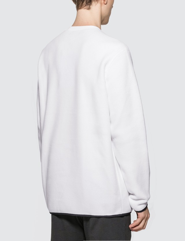 Champion Reverse Weave Sleeve Script Crewneck Fleece