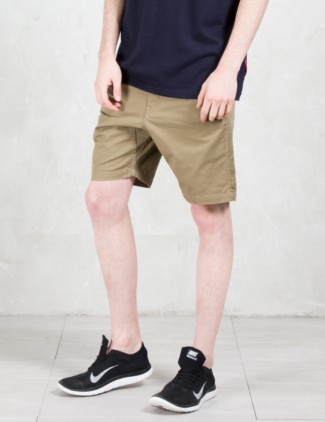 Manastash Flex Cropped Shorts