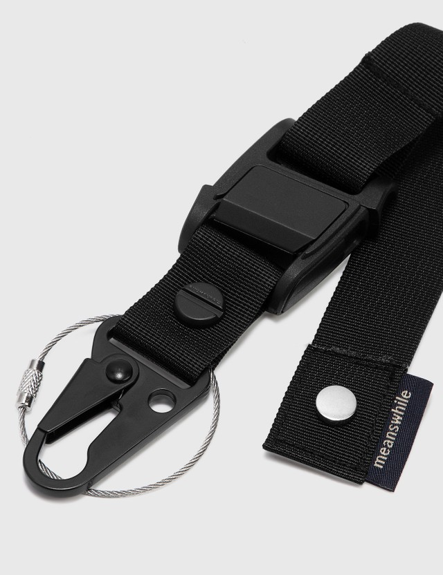 Meanswhile Utility Key Ring Black Men