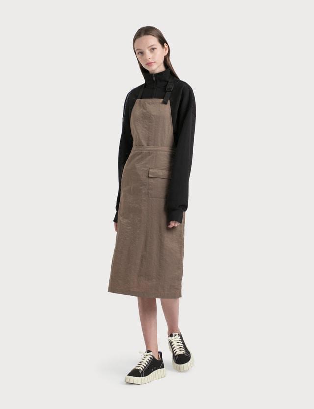Stussy Nylon Convertible Apron Dress