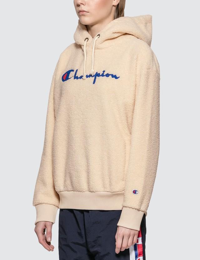 Champion Reverse Weave Fleece Big Script Hoodie