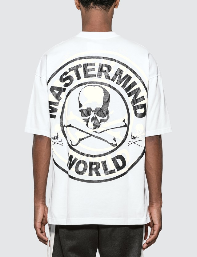 Mastermind World Back Oversized Logo Print T-Shirt