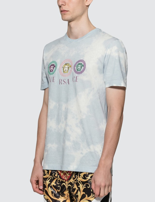 Versace Tie Dye Medusa T-shirt