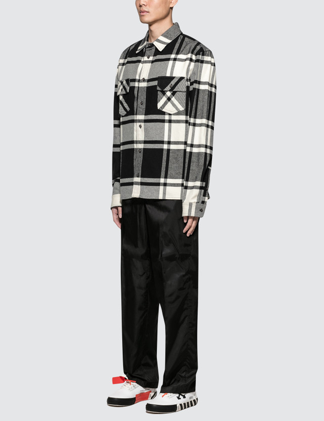 Off-White Stencil Flannel Shirt