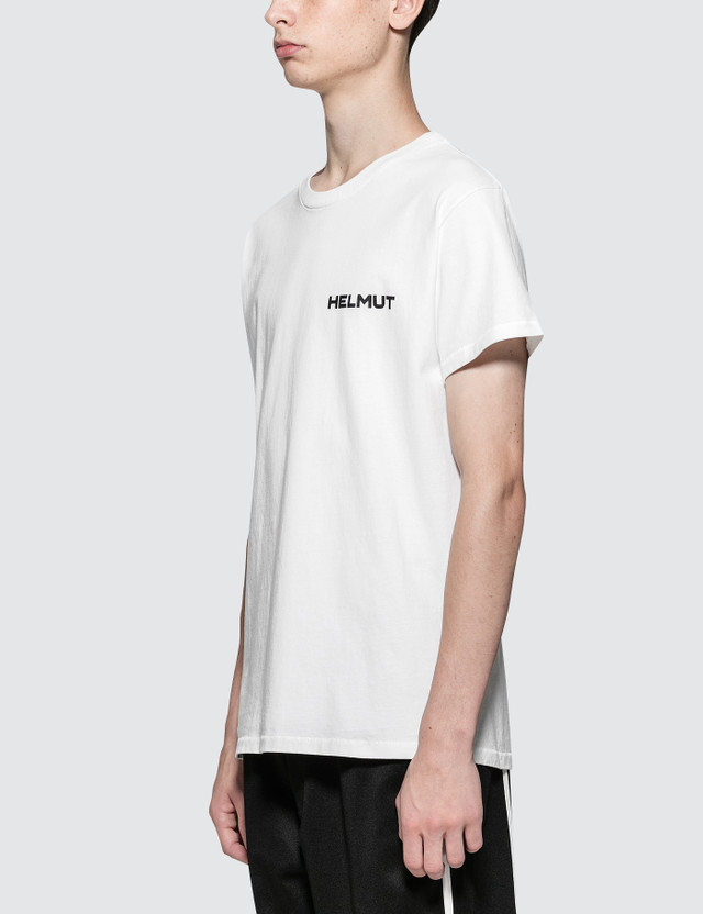 Helmut Lang In Lang We Trust Print S/S T-Shirt