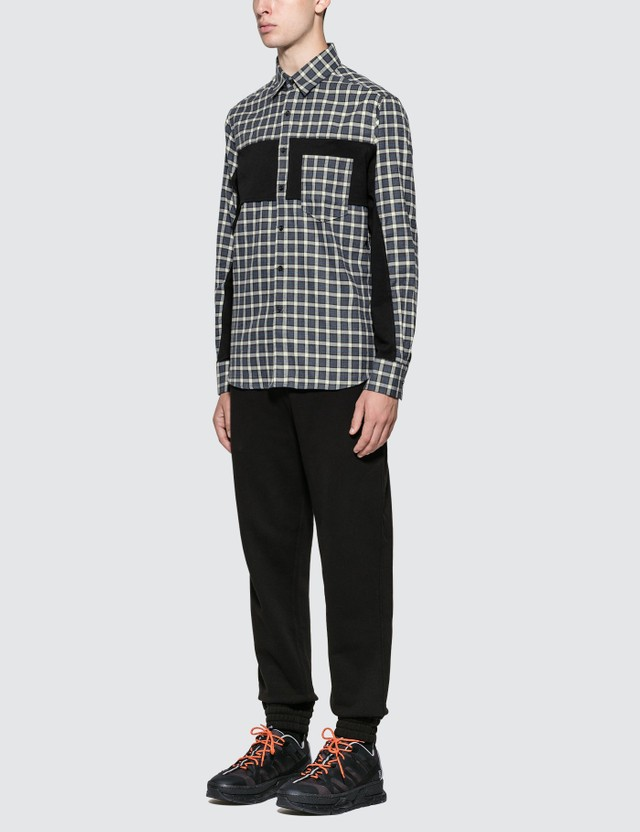 Burberry Logo Appliqué Cotton Trackpants