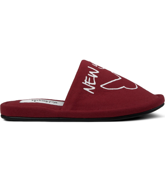 SECOND LAB Red Gonz NY Room Shoes