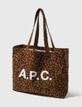 A.P.C. Diane Leopard Tote Bag Picutre
