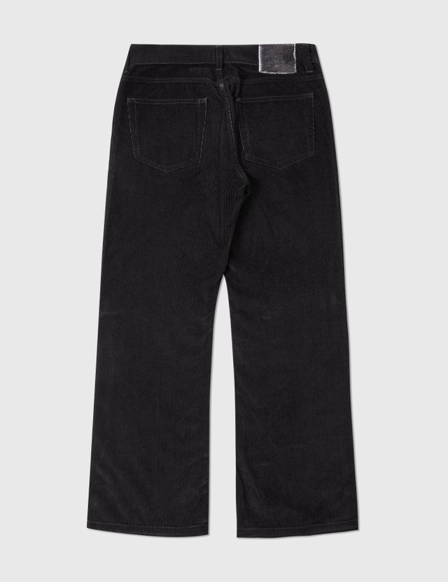 Gucci Gucci Corduroy Pants Black Archives