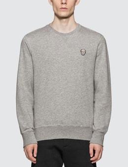 Alexander McQueen Bull Skull Patch Sweatshirt
