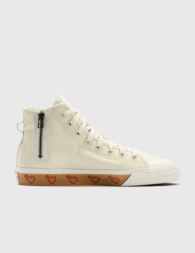 Adidas Originals Human Made x adidas Consortium Nizza Hi Offwhite/offwhite/offwhite Men