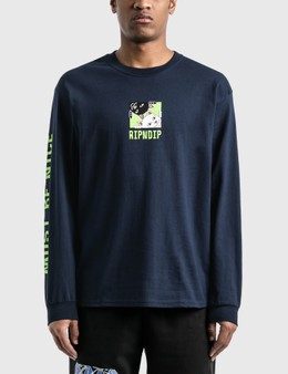 RIPNDIP Besties Long Sleeve T-Shirt