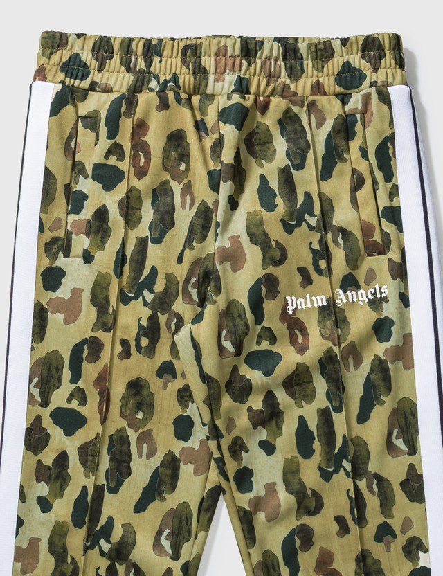 Palm Angels Camo Classic Track Pants Brown Men