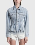 Alexander Wang.T Sculpted Flare Jacket Picture