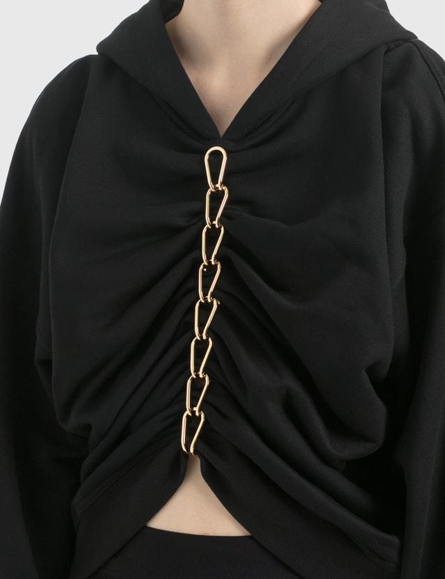 Dion Lee Chain Hoodie Black Women