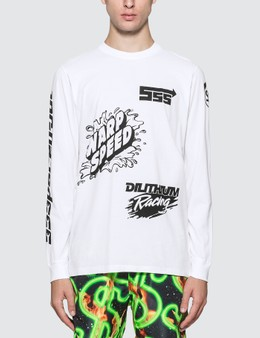 SSS World Corp Sponsors Multiprint Long Sleeve T-Shirt