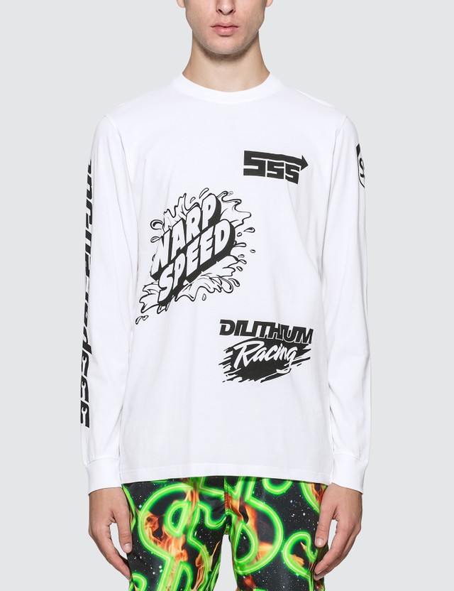 SSS World Corp Sponsors Multiprint Long Sleeve T-Shirt
