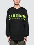 #FR2 Caution L/S T-Shirt Picture