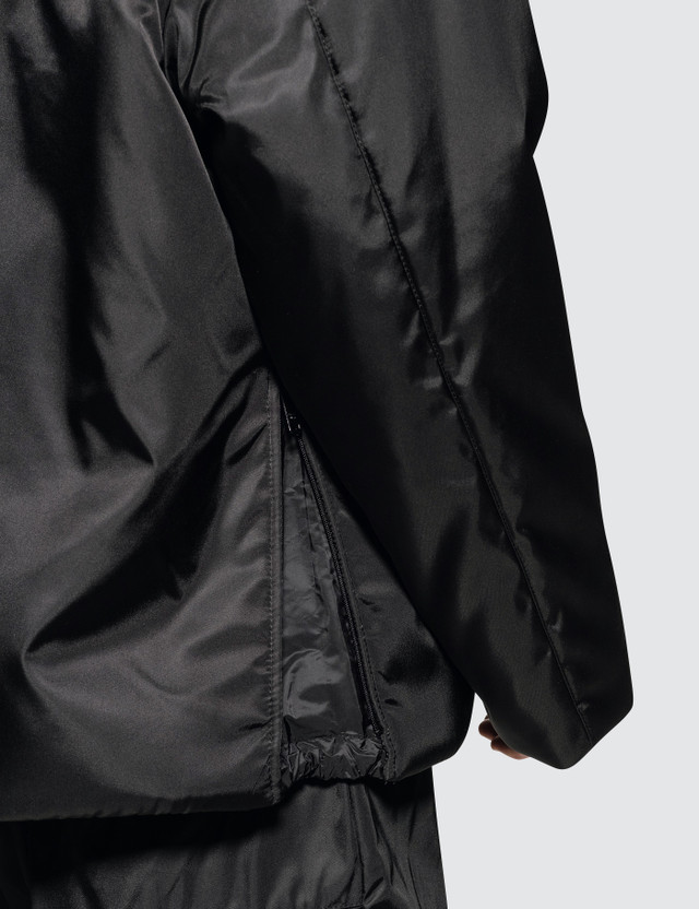 Prada Padded Nylon Hooded Drawstring Jacket