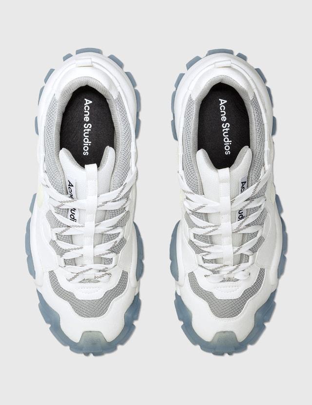Acne Studios Bolzter Crystal M Sneakers White/blue Women