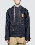 Loewe Denim Hoodie Front Pocket Picture