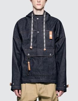 Loewe Denim Hoodie Front Pocket