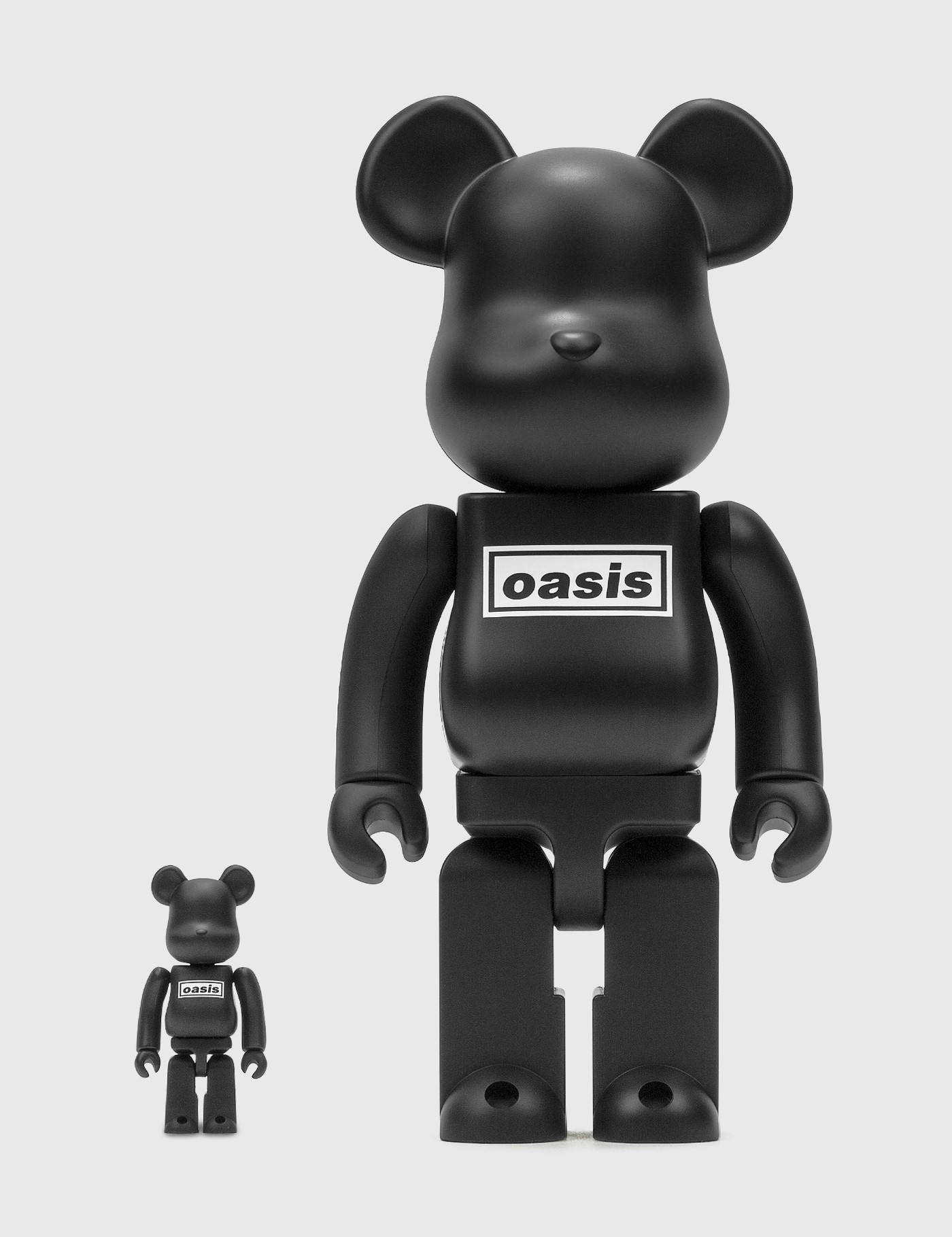 Be@rbrick Oasis Black Rubber Coating 100% & 400% Set