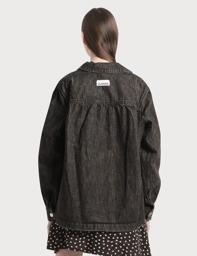 Ganni Washed Denim Jacket