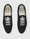 Maison Kitsune Canvas Laced Sneaker Black Bk Women