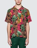 Stussy Watercolor Flower Shirt Picture